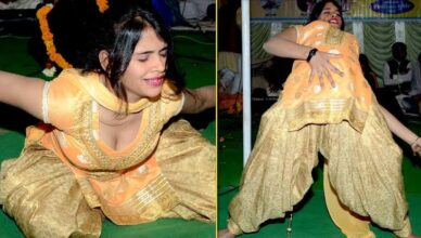 Sapna Sharma Top Stage Dance
